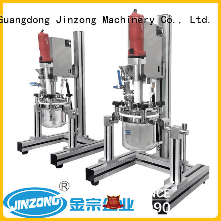 Jinzong Machinery making stainless mixing tank online for petrochemical industry