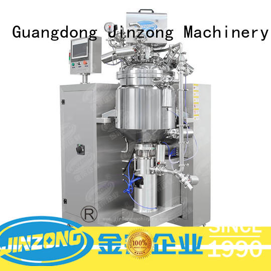 Jinzong Machinery vacuum pharmaceutical reaction reactors series for reflux
