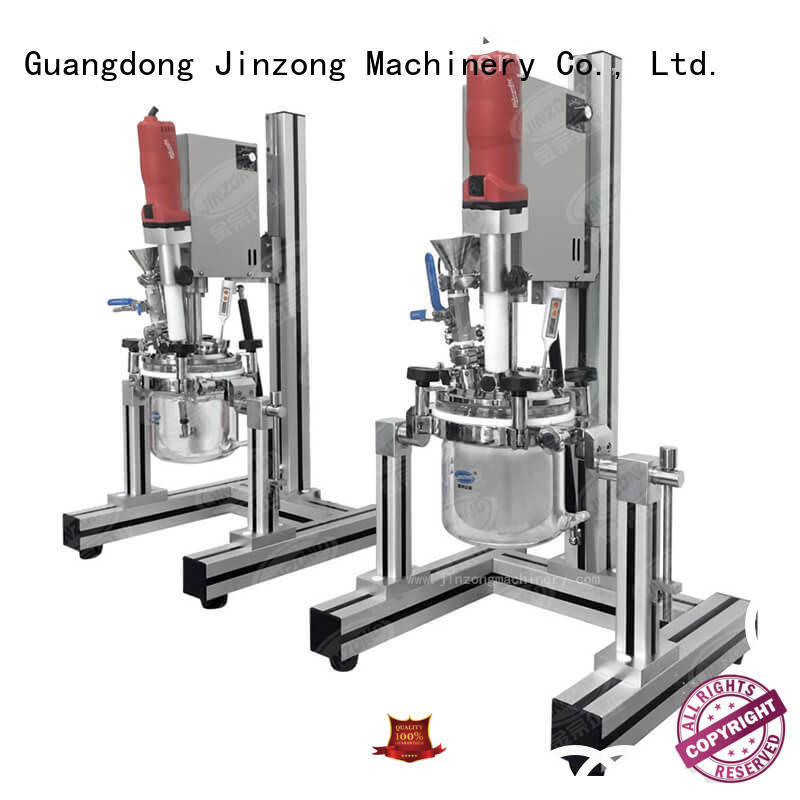 Jinzong Machinery utility stainless steel mixing tank online for petrochemical industry
