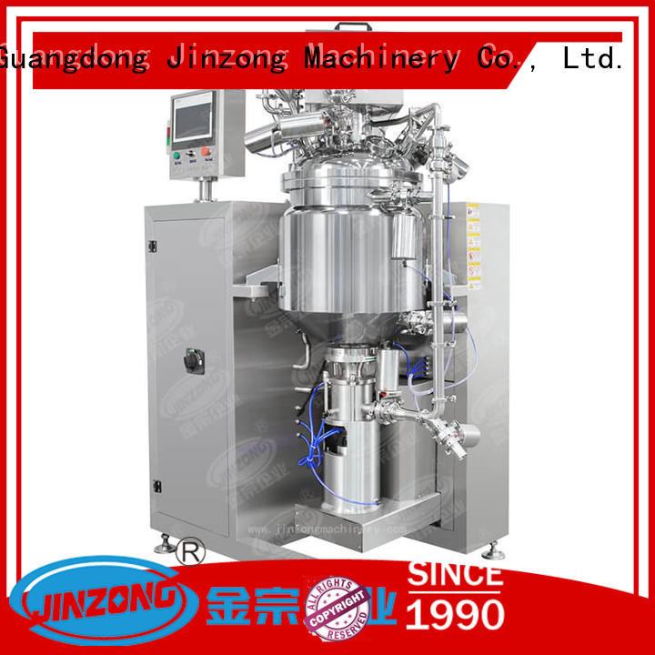JRF Series Vacuum Ointment Making Machine
