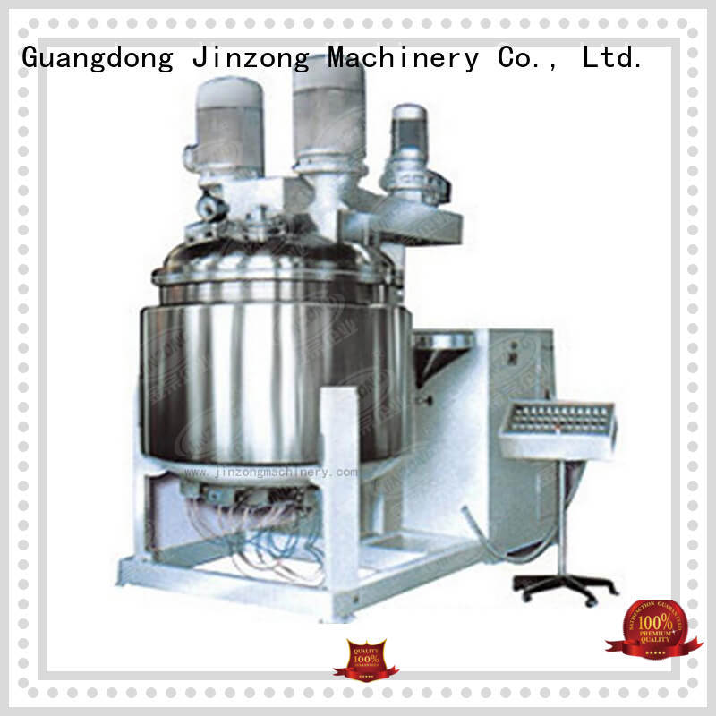 Jinzong Machinery dairy cosmetic cream making machine online for food industry