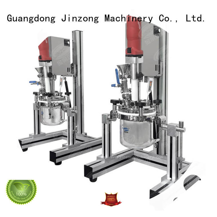 Jinzong Machinery vacuum Vacuum emulsifier high speed for food industry