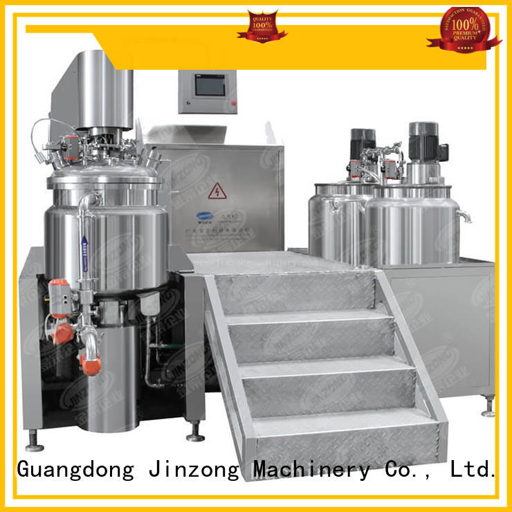 Jinzong Machinery precise cosmetic mixer machine wholesale for food industry