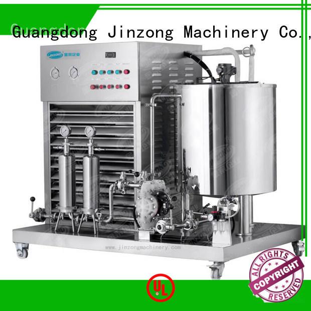 Jinzong Machinery utility cosmetic machine factory for nanometer materials