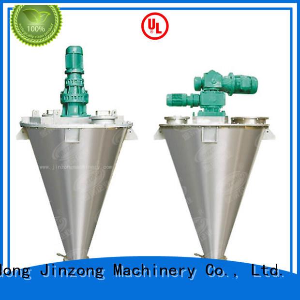 Jinzong Machinery safe industrial powder mixer high speed