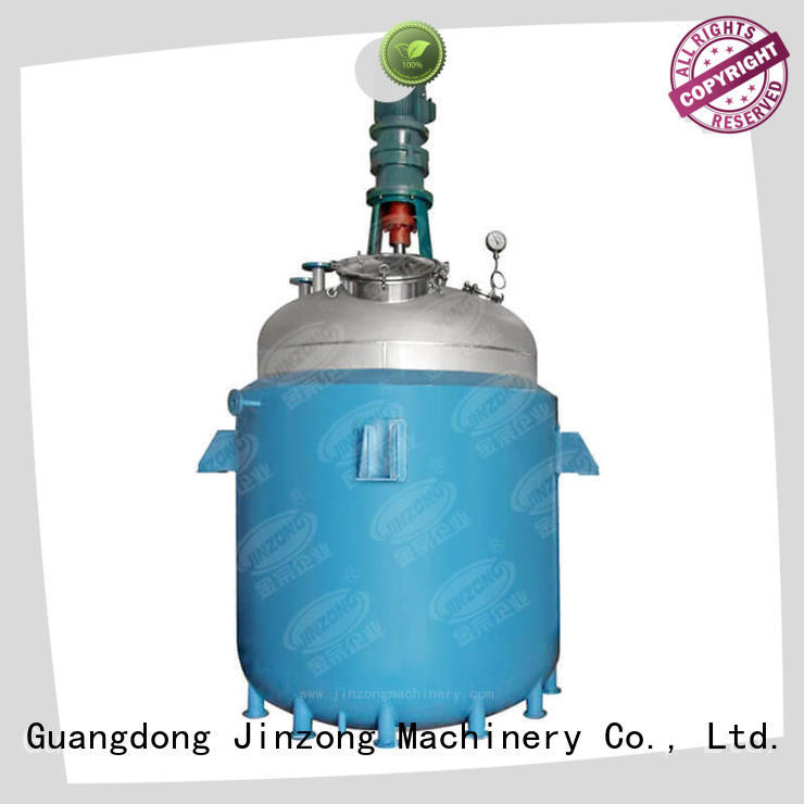 Jinzong Machinery durable chemical reaction machine manufacturer for chemical industry