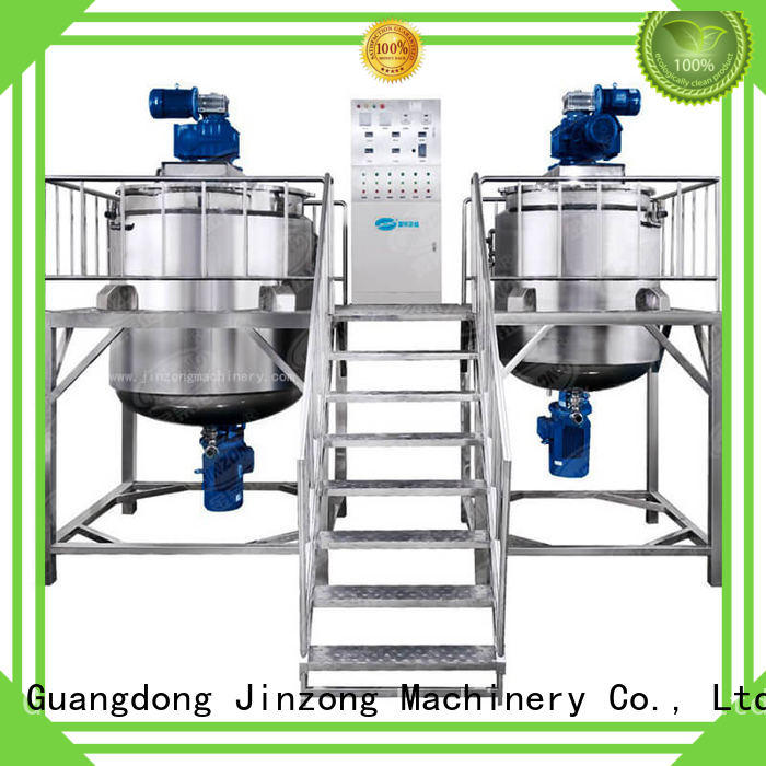 cosmetics filling machines for cosmetic creams & lotions engineering for petrochemical industry Jinzong Machinery