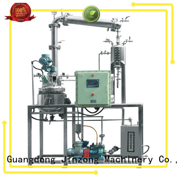 Jinzong Machinery durable lab reactor heating for distillation