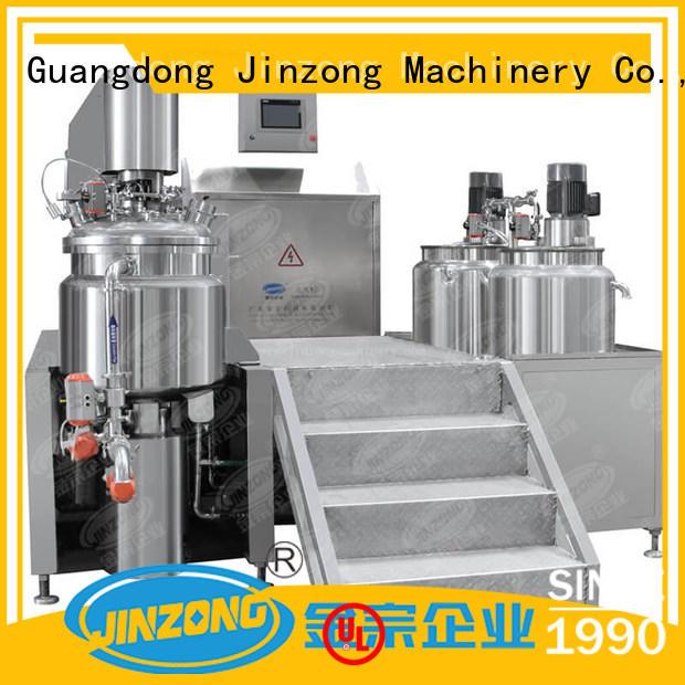 Jinzong Machinery machine cream filling machine wholesale for petrochemical industry
