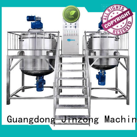 engineering cosmetic cream making machine factory for nanometer materials Jinzong Machinery