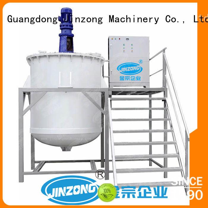 machines cosmetic mixer machine tank for nanometer materials Jinzong Machinery