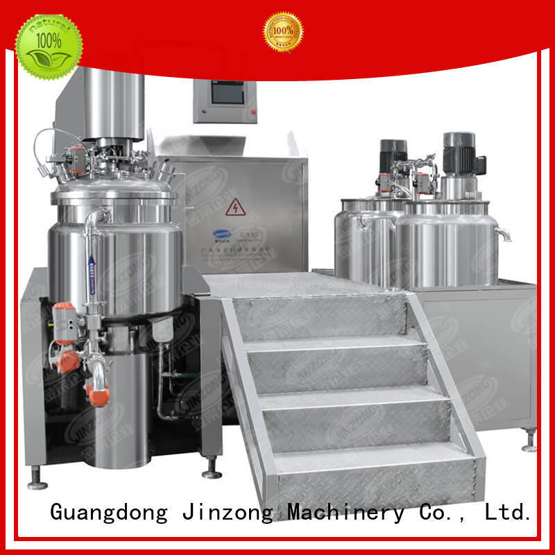 Jinzong Machinery high quality Cosmetic cream homogenizer factory for paint and ink