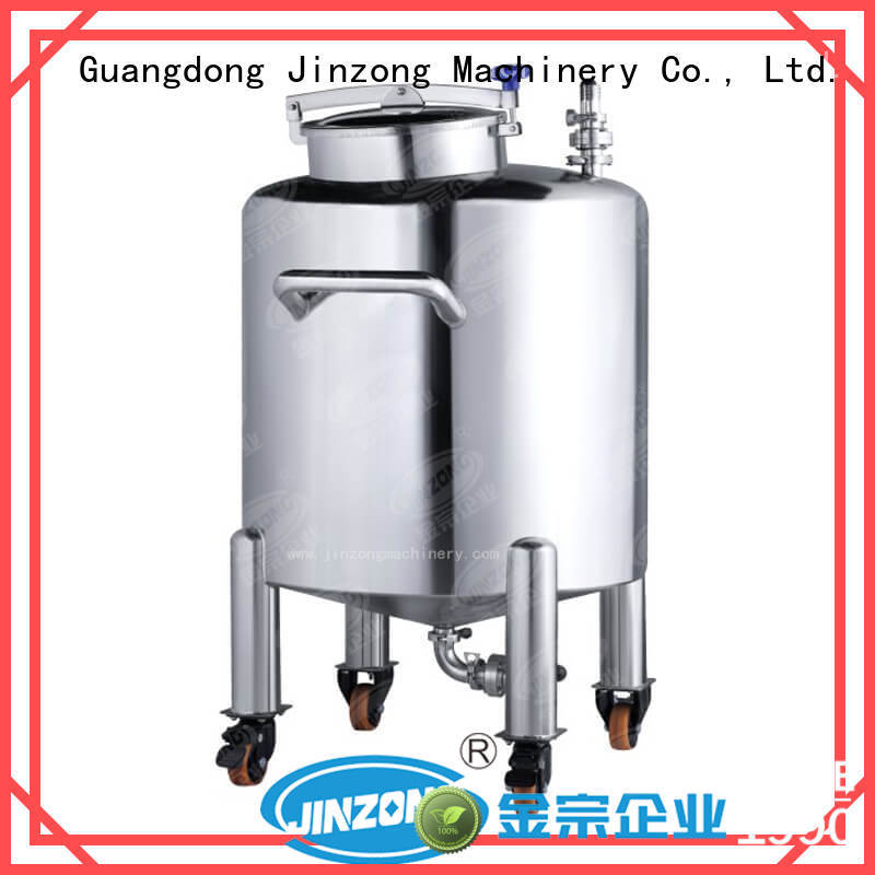 Stainless Steel Storage Tank used in dairy engineering