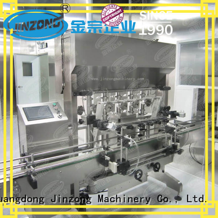 Jinzong Machinery high quality cream filling machine high speed for petrochemical industry