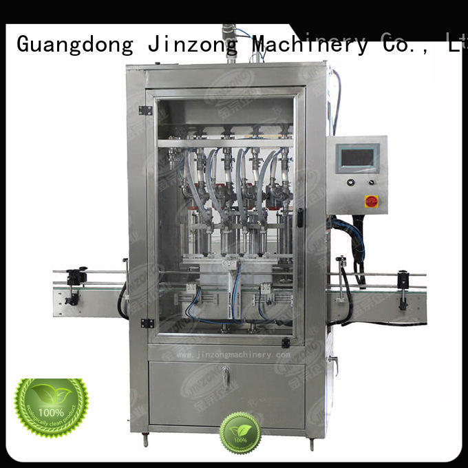 Jinzong Machinery perfume lipstick filling machine factory for nanometer materials