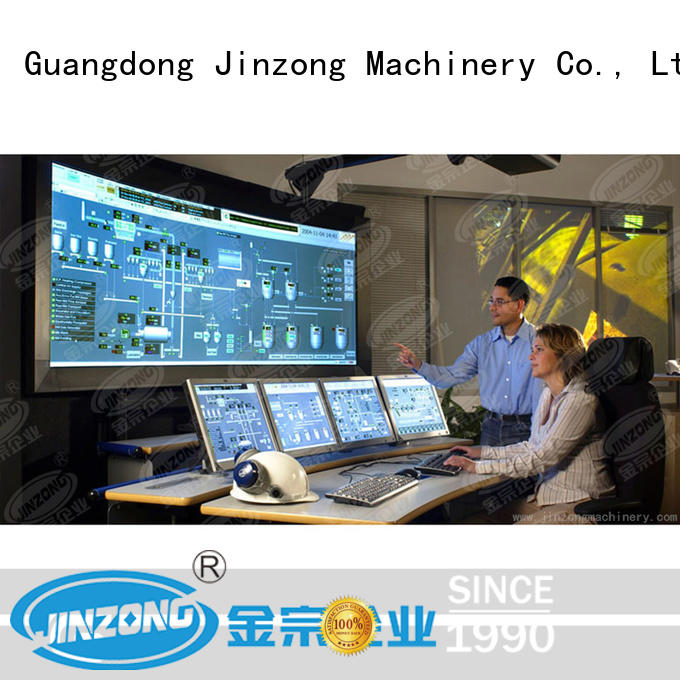 Jinzong Machinery practical production planning system high speed for workshop