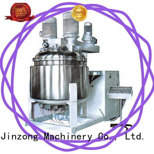 Jinzong Machinery water equipment for cosmetic production online for food industry