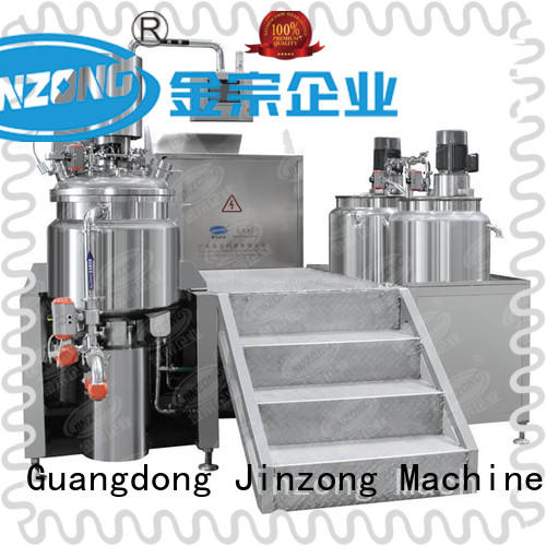chemical mixing tank perfume for food industry Jinzong Machinery