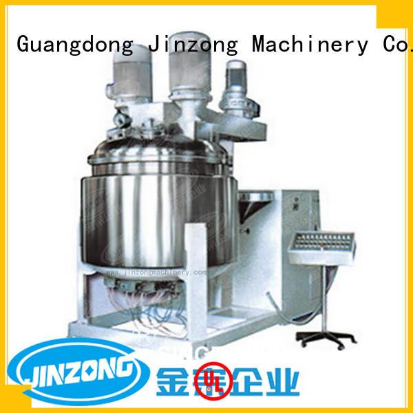 Jinzong Machinery pvc Shampoo making machine factory for petrochemical industry