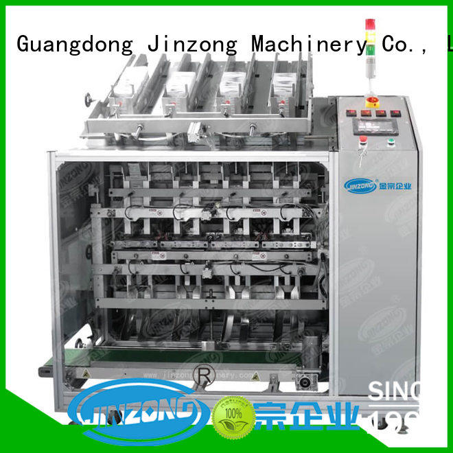 Jinzong Machinery vacuum lotion filling machine factory for nanometer materials