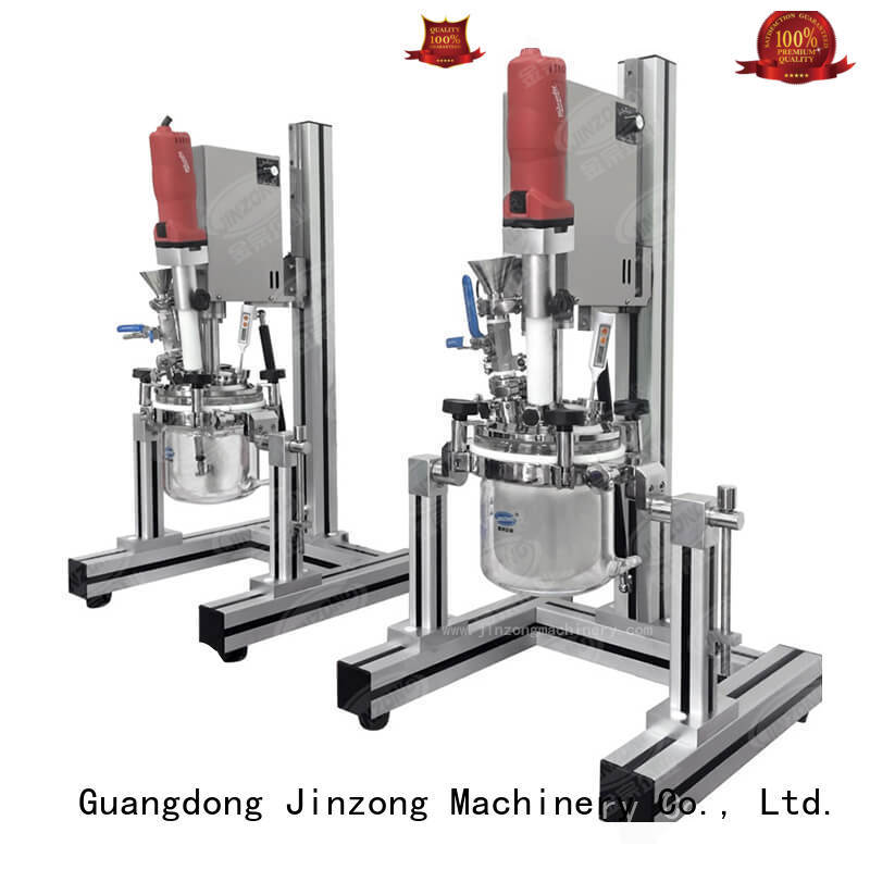 Jinzong Machinery cream industrial tank mixers factory for paint and ink