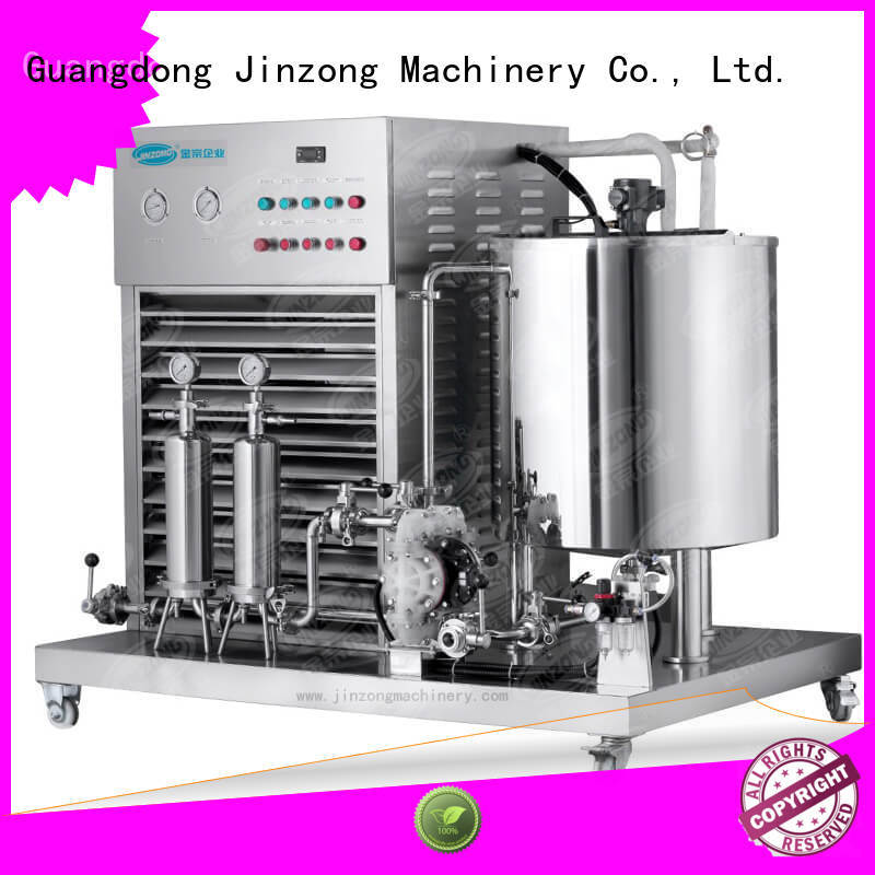 Jinzong Machinery applied cosmetics equipment suppliers online for nanometer materials