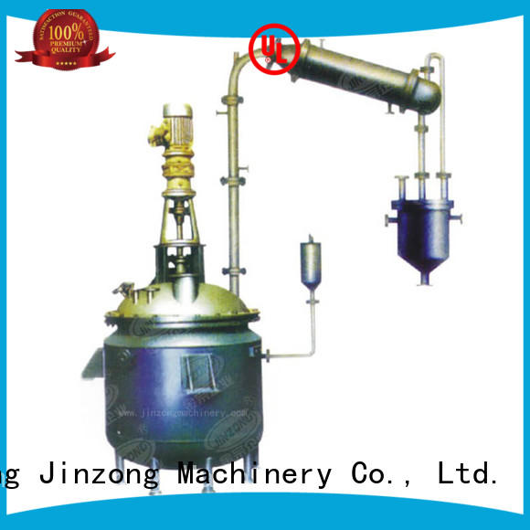 Jinzong Machinery machine chemical equipment supply manufacturer for reflux