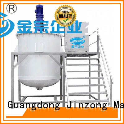 Jinzong Machinery practical chemical mixing tank wholesale for paint and ink
