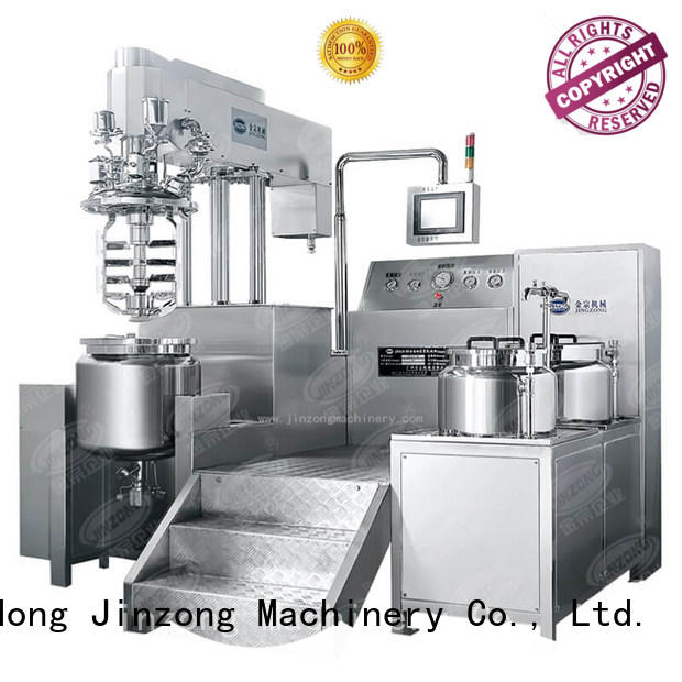 Jinzong Machinery ointment pharmaceutical production line online for pharmaceutical