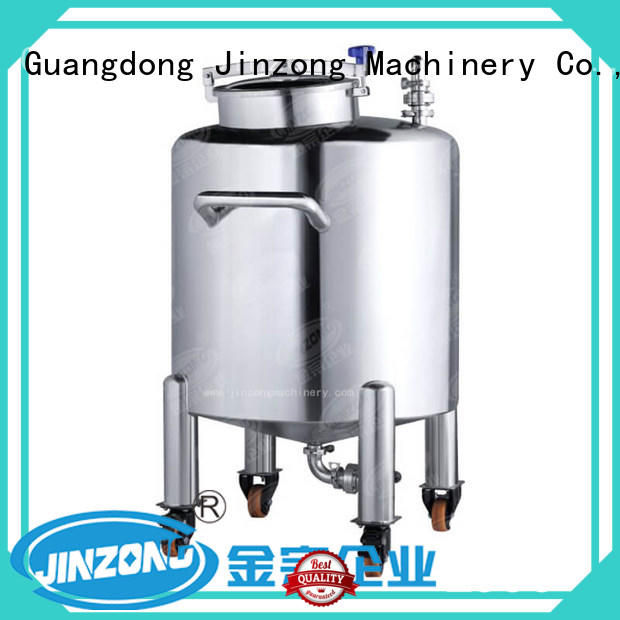 Jinzong Machinery anticorrosion stainless mixing tank high speed for nanometer materials