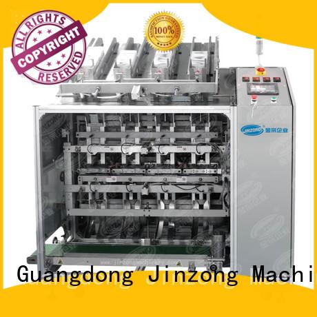 Jinzong Machinery precise cream filling machine high speed for nanometer materials
