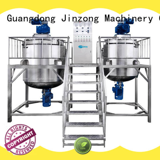 Jinzong Machinery anticorrosion lotion filling machine online for nanometer materials