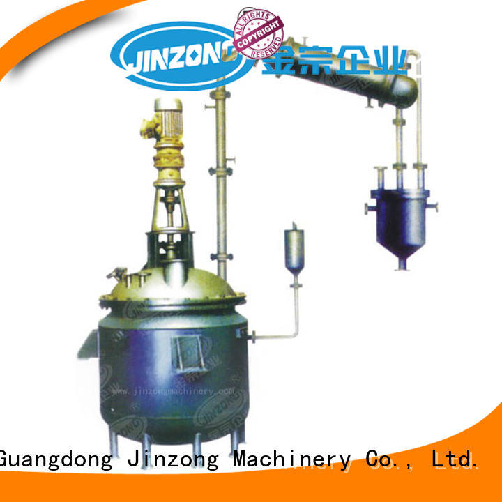 Jinzong Machinery durable chemical reactor on sale for stationery industry
