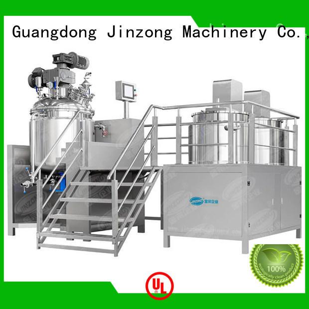 Jinzong Machinery series pharmaceutical reaction reactors online for reaction