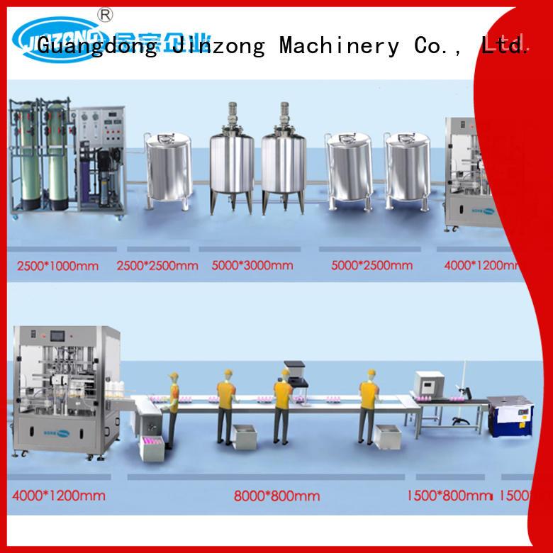 Jinzong Machinery liquid industrial tank mixers factory for food industry