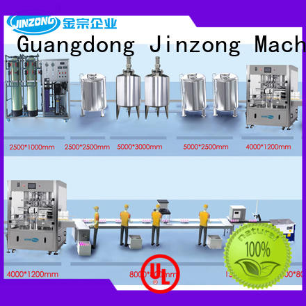 Jinzong Machinery liquid cosmetic equipment wholesale high speed for food industry