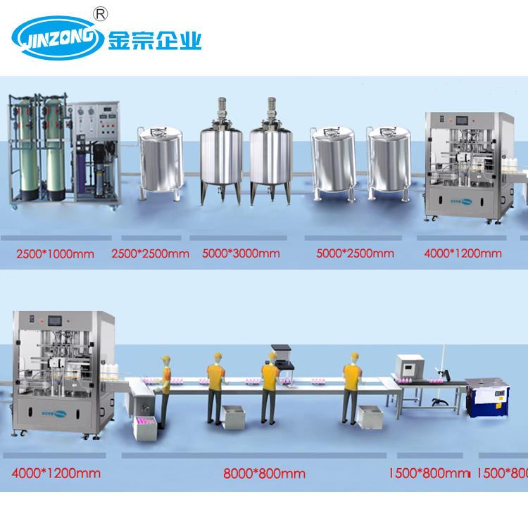 Disinfectant Liquid Production Line