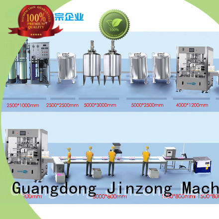 Jinzong Machinery precise cosmetic machine factory for paint and ink