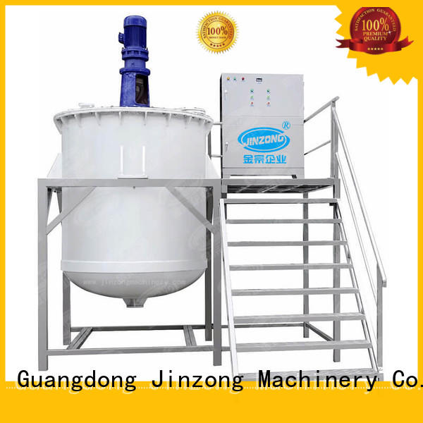 Jinzong Machinery cosmetics filling machines for cosmetic creams & lotions for business for nanometer materials