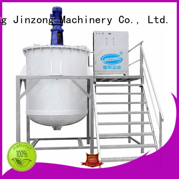 Jinzong Machinery precise chemical mixing tank wholesale for petrochemical industry