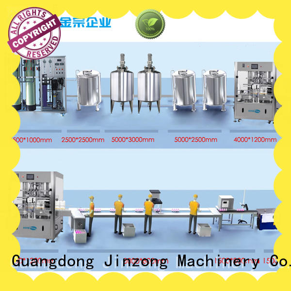 Jinzong Machinery series cosmetic equipment wholesale supply for nanometer materials