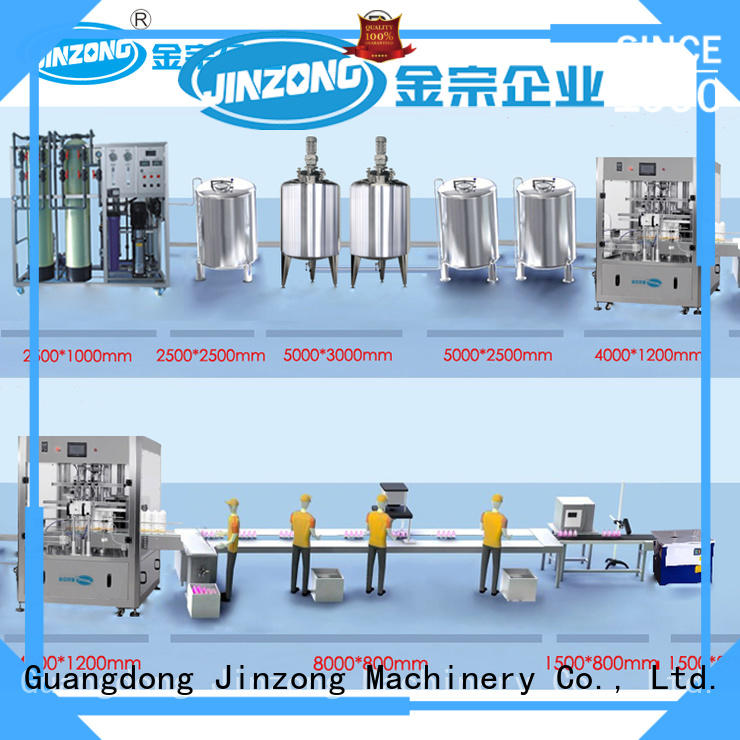 Jinzong Machinery high quality stainless steel tank factory for paint and ink