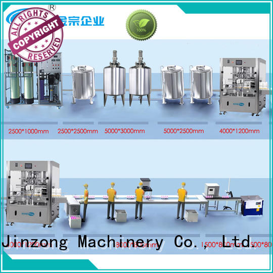 Jinzong Machinery precise cosmetic making machine high speed for food industry