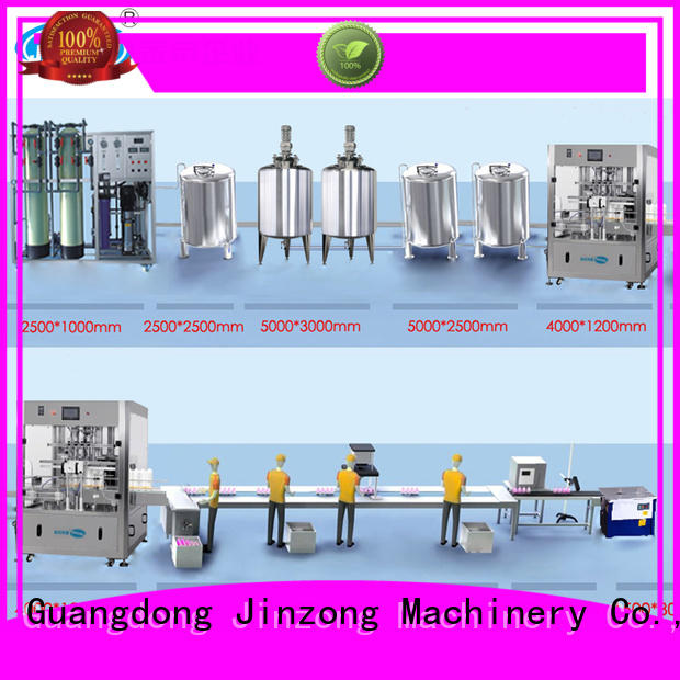 Jinzong Machinery bottles cosmetics equipment suppliers wholesale for nanometer materials