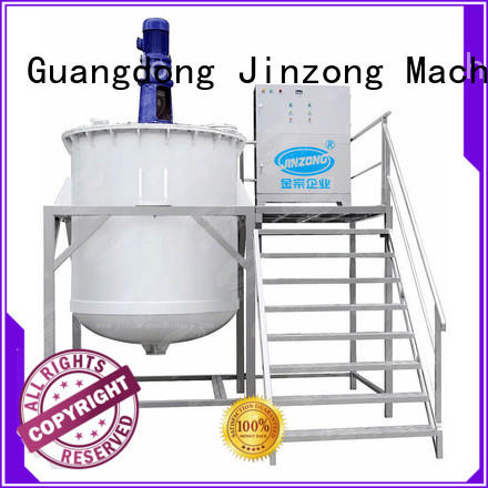 Jinzong Machinery high quality lotion filling machine high speed for nanometer materials