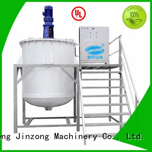 Jinzong Machinery utility cosmetic cream manufacturing equipment factory for nanometer materials