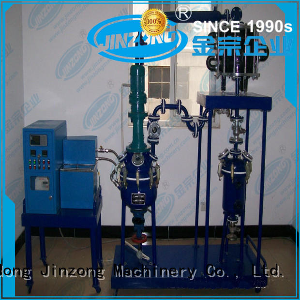 Jinzong Machinery coil polyester resin reactor Chinese for reflux