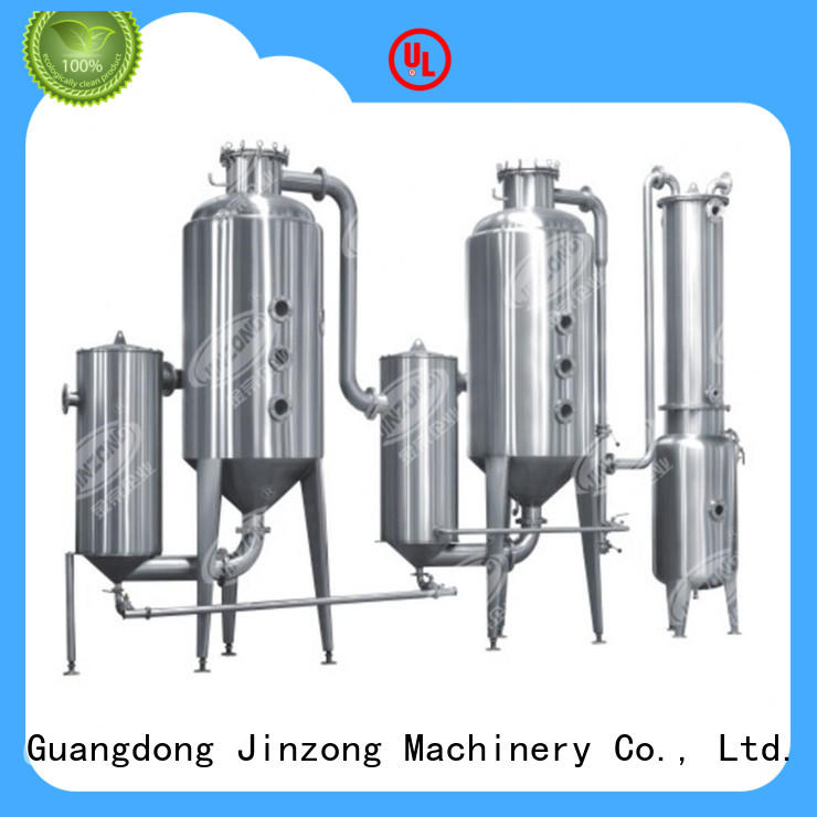 Jinzong Machinery multi function concentrator series for reflux