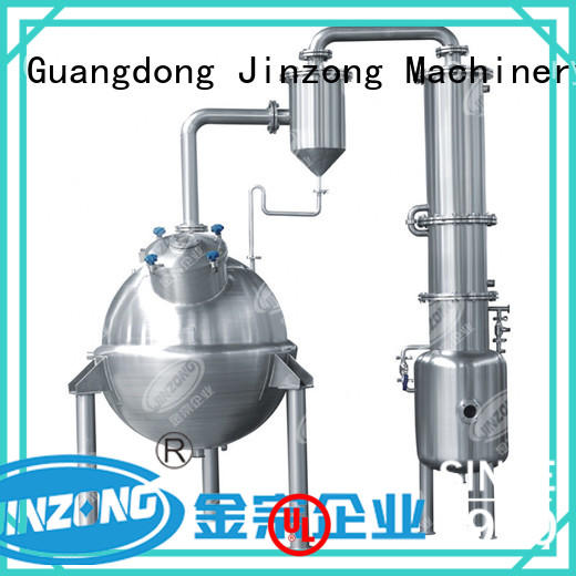 Jinzong Machinery making liquid detergent mixer series for food industries