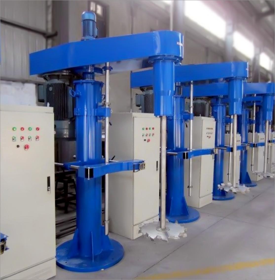 FS Series Hydraulic Lifting High Speed Disperser